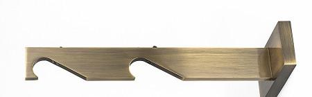 Slim – wspornik podwójny do rury lub profila Ø19