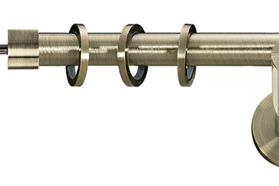 Delia – designerska końcówka ø19 i ø25mm