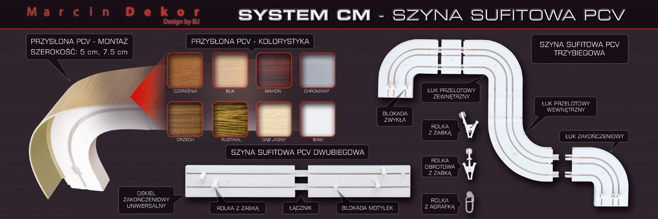Schemat systemu CM