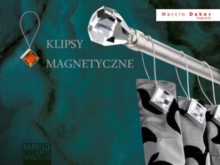 Klipsy magnetyczne CRYSTAL