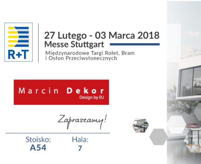 TARGI R+T 2018r. Stuttgard