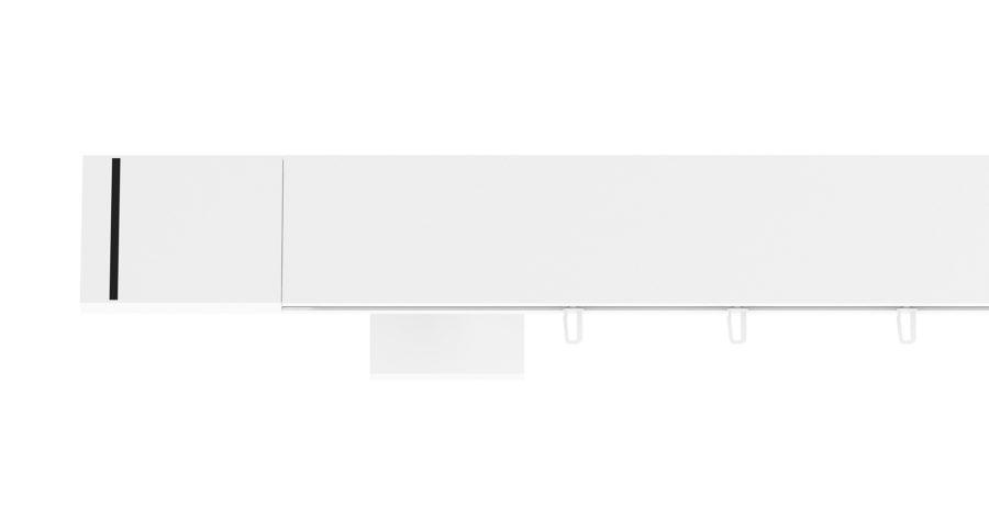 Karnisz TOP-LINE MODERN biały połysk