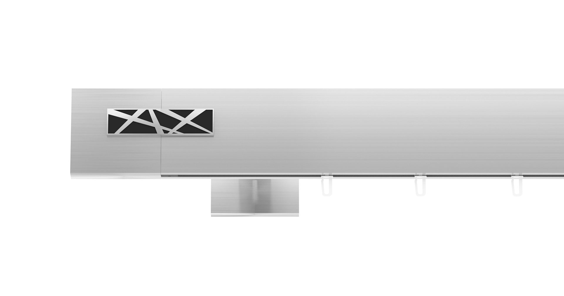 TOP-LINE GALAXY brushed steel